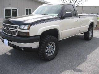 2007 Chevrolet Silverado 3500,  6.  6l Duramax,  Custom Paint,  Lots Of Extras photo
