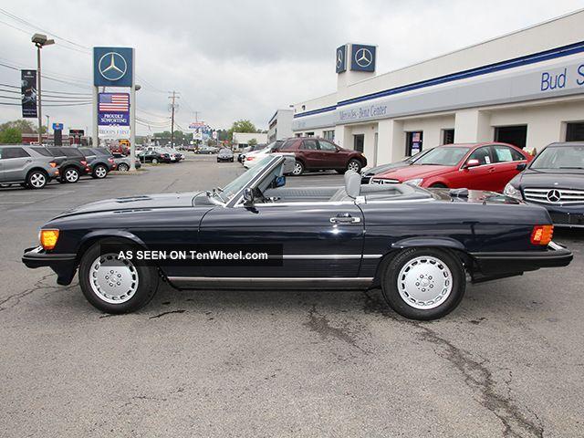 1986 Mercedes - Benz 560sl Convertible 2 - Door 5.  6l Award Winner 100% 33k 500-Series photo
