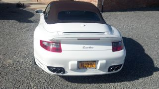 2009 Porsche 911 Turbo Convertible 2 - Door 3.  6l photo