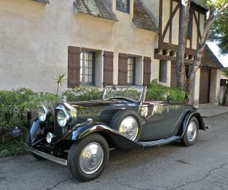 1933 Rolls - Royce 20 / 25 Drophead Coupe By Carlton Carriage Co. photo