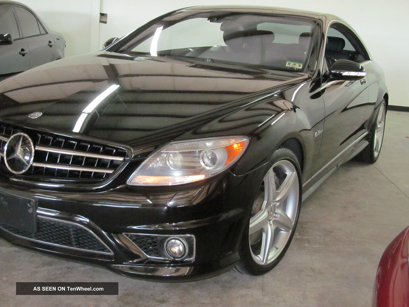 2009 mercedes benz cl63 amg base coupe 2 door 6 3l for 2009 mercedes benz cl63 amg