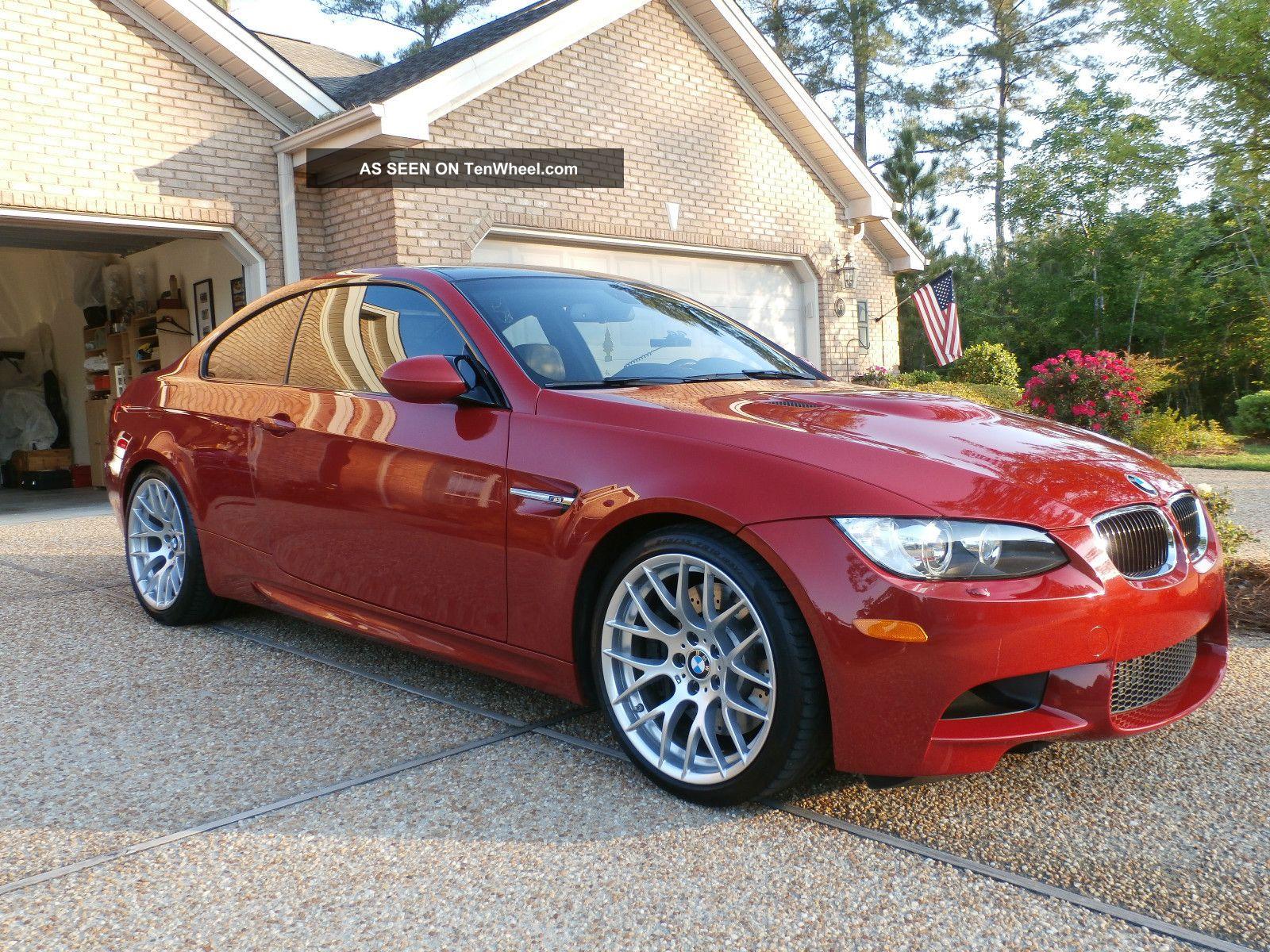 2011 Bmw M3 Base Coupe 2 - Door 4.  0l M3 photo