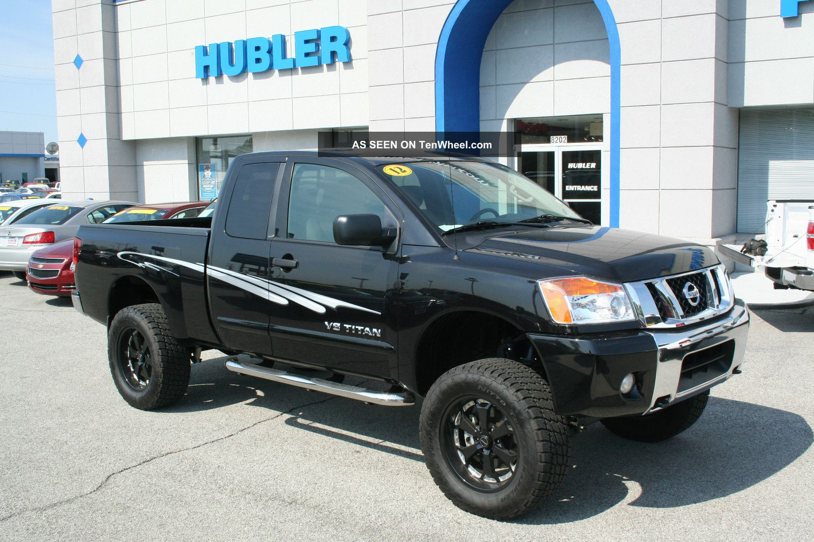 2012 nissan titan 4wd king cab 5 6l 8cyl sv. Black Bedroom Furniture Sets. Home Design Ideas