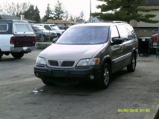 Cng / Gasoline 1999 Pontiac Montana Base Mini Passenger Van 4 - Door 3.  4l photo