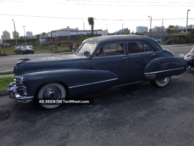 1947 cadillac 4 door sedan classic for 1947 plymouth 4 door sedan