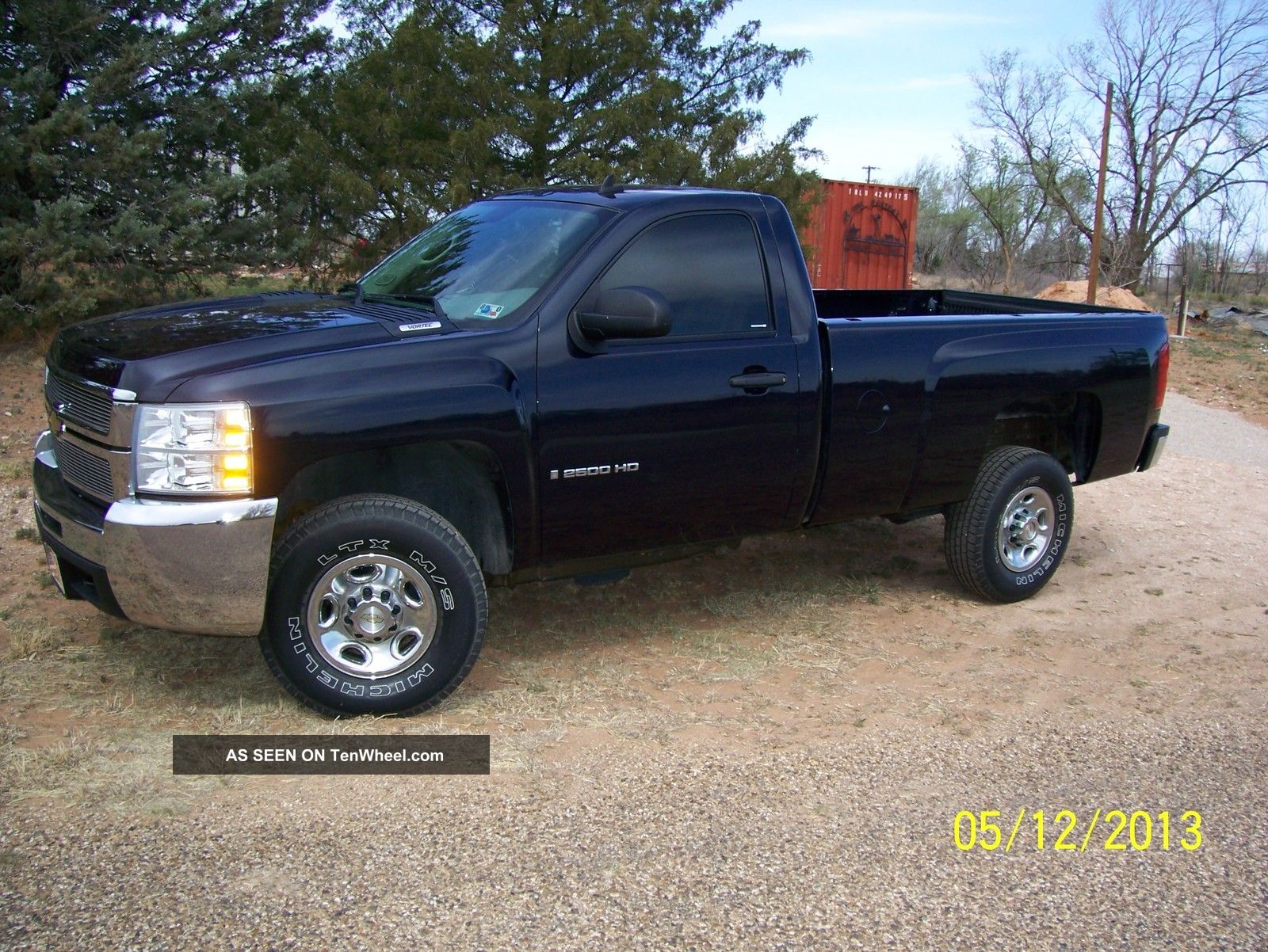 2008 chevrolet silverado 2500 hd wt standard cab pickup 2 door 6 0l. Black Bedroom Furniture Sets. Home Design Ideas