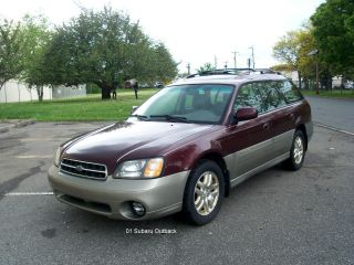 2001 Subaru Outback Limited Wagon 4 - Door 2.  5l 5 Speed photo