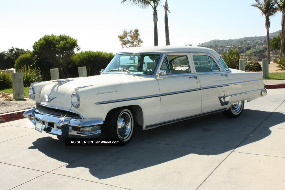 Webb Chevrolet >> 1954 Lincoln Capri Base 5. 2l
