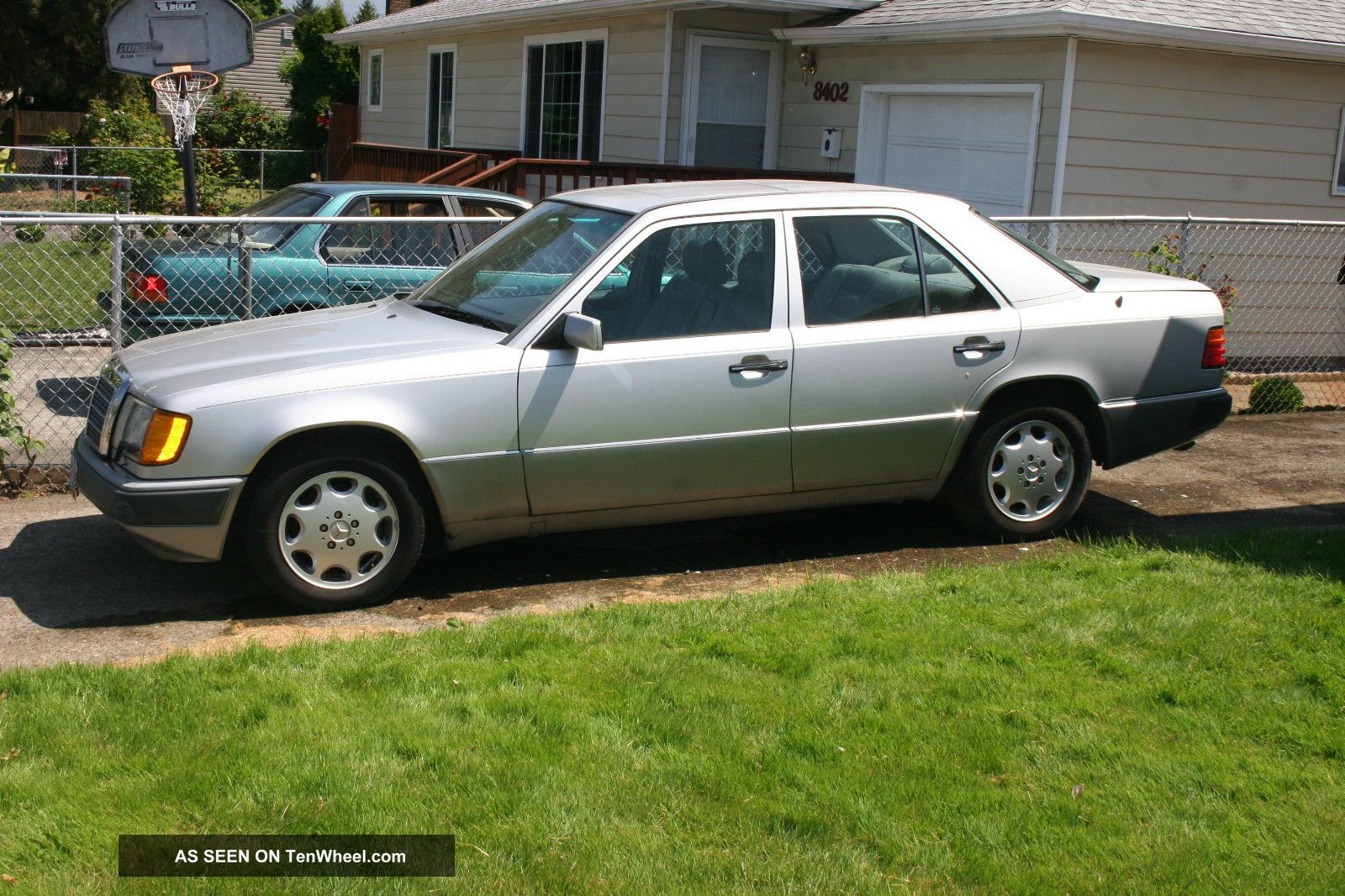 Silver 1993 mercedes benz 400e runs 10 min then for 1993 mercedes benz 400e for sale