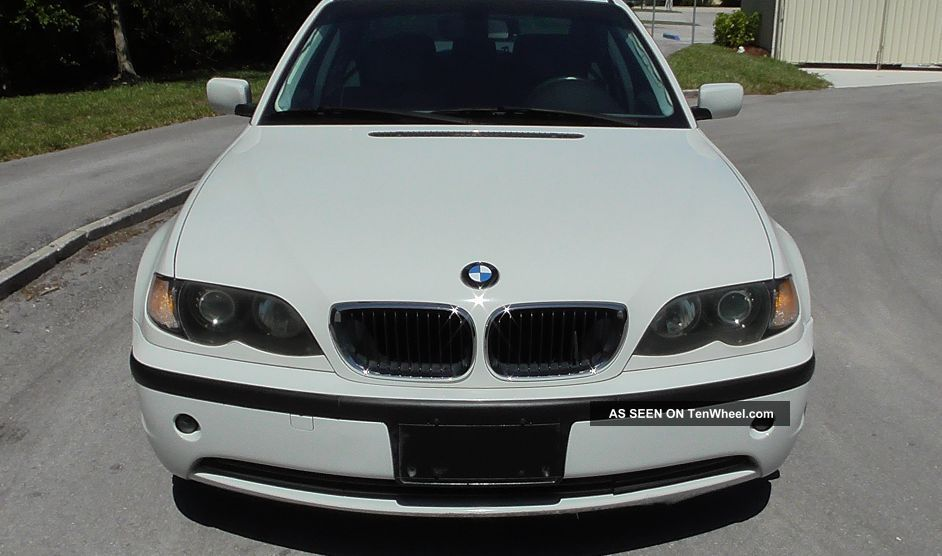 2004 Alpine White Bmw 325i Base Sedan 4 - Door 2.  5l -, 3-Series photo
