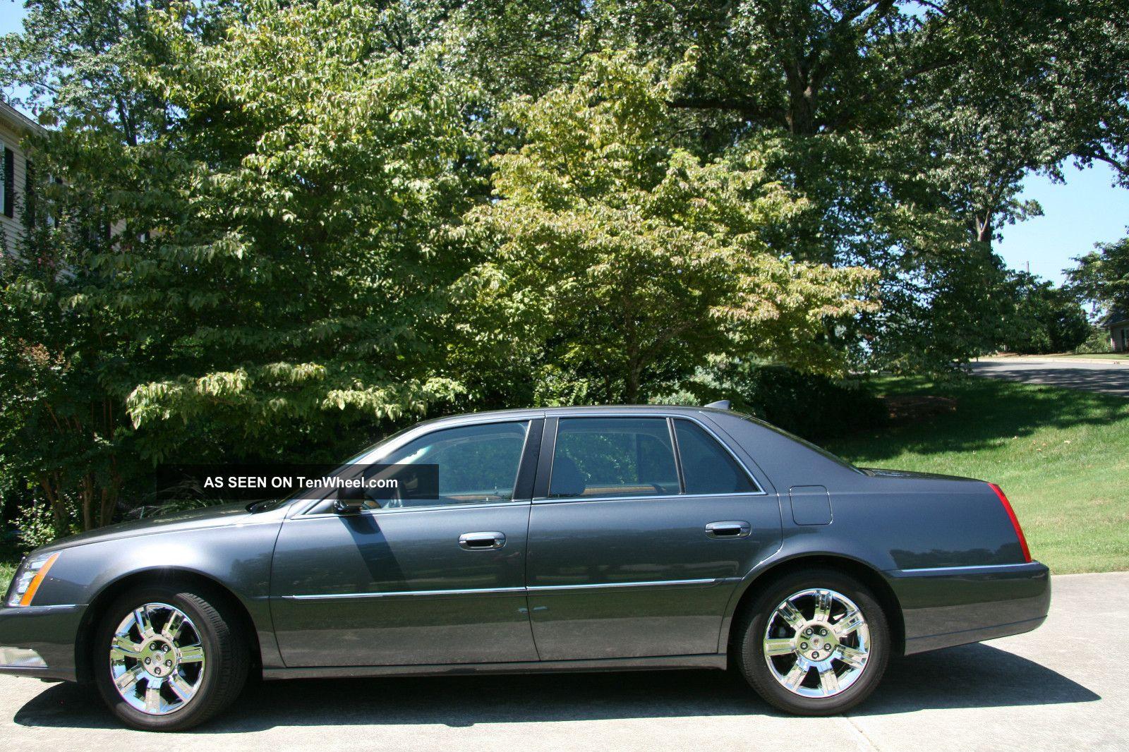 2011 Cadillac Dts Platinum Sedan 4 Door 4 6l Factory