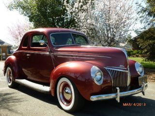 1939 Ford Deluxe Coupe Hot Rod photo