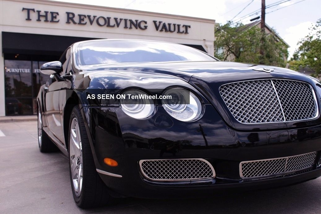 2004 bentley continental gt twin turbo 6 0l w all wheel. Black Bedroom Furniture Sets. Home Design Ideas