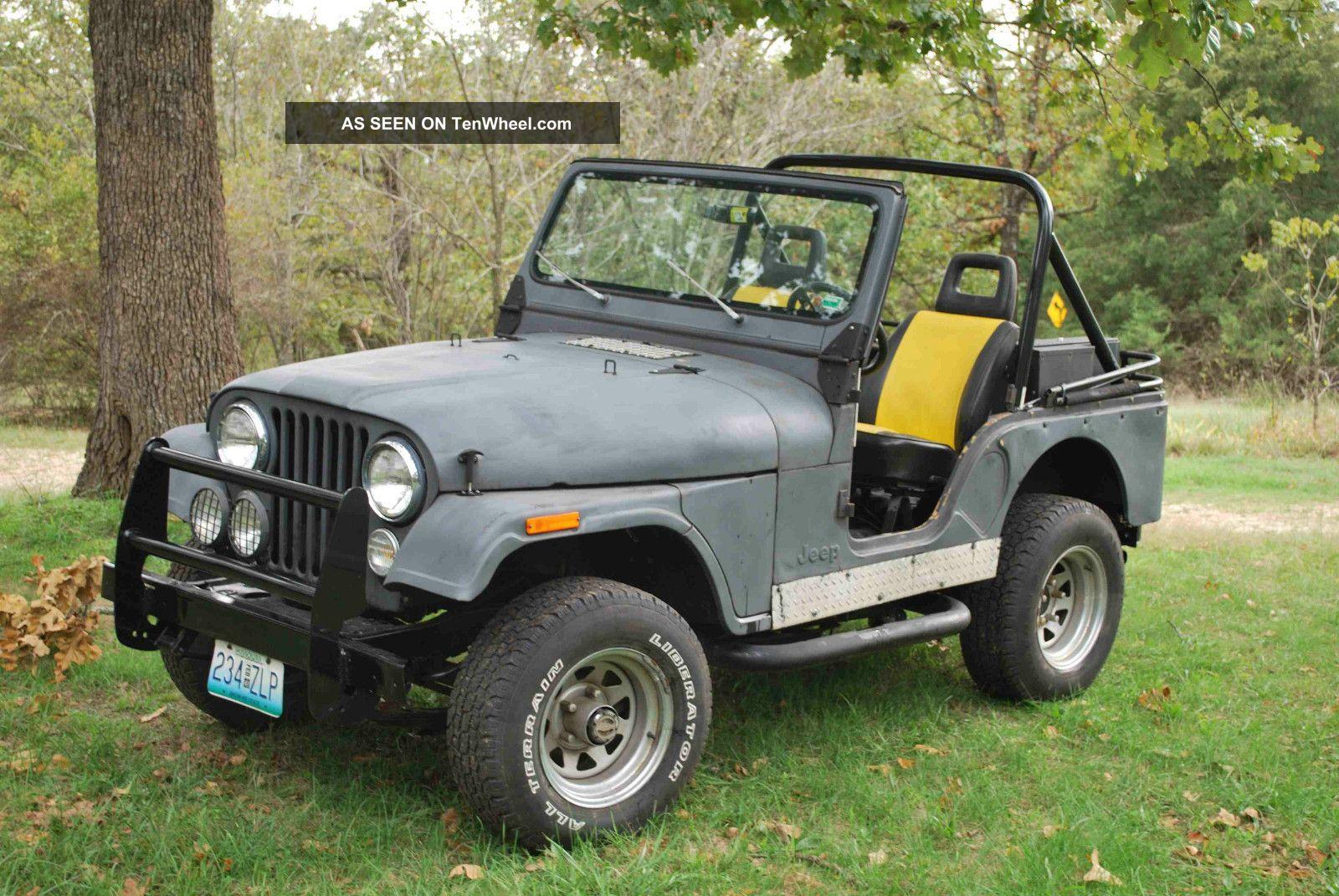 Rebuilt 1978 Jeep Cj5
