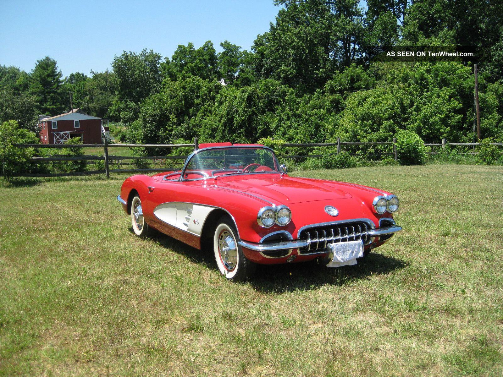 1960 Corvette Corvette photo