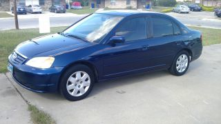 2002 Honda Civic Ex Model