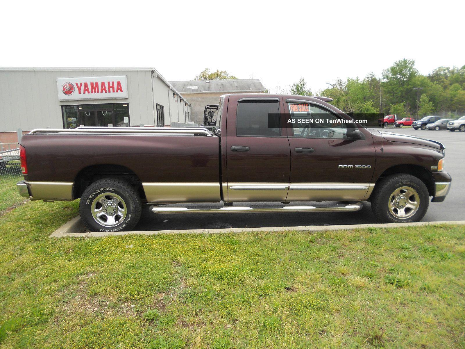 2004 Dodge Ram 1500 Laramie 4x4 4 Door 8 Bed