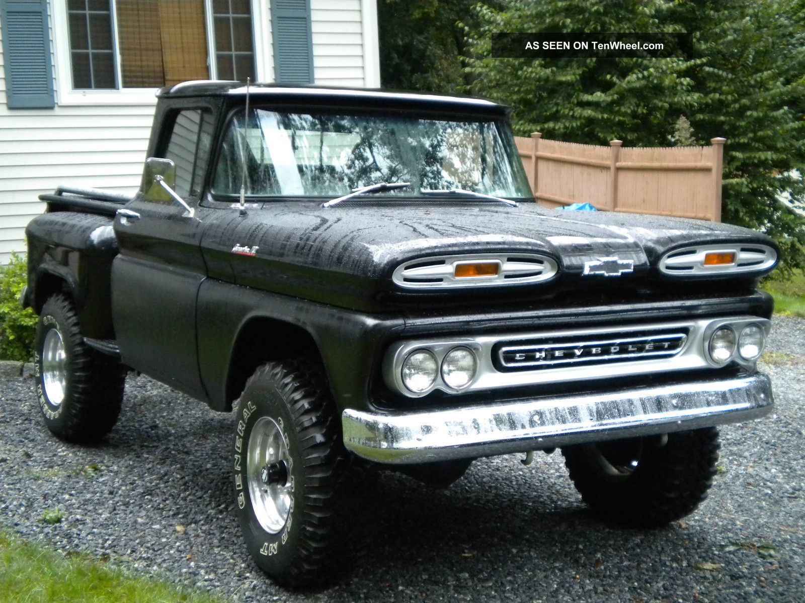 1961 Chevy Apache 4x4 Chassis