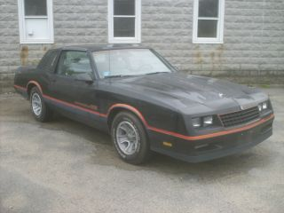 1986 Chevrolet Monte Carlo Ss T - Top Car W / Great Option Package All photo