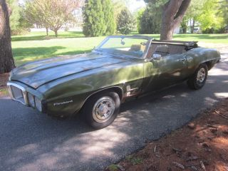 1969 Pontiac Firebird Convertible 350 Automatic Pwr Top,  Project photo