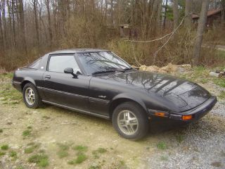 1983 Mazda Rx7 Complete Solid Car That Needs Work photo