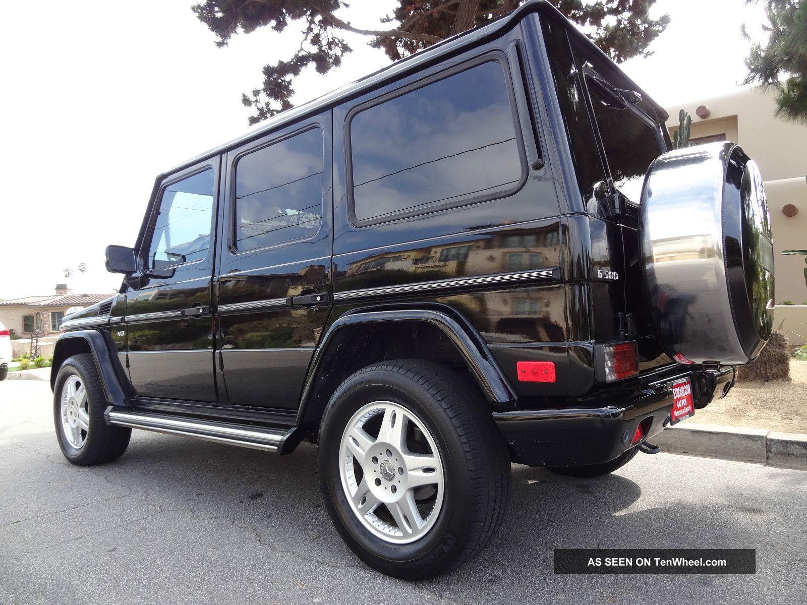 2003 mercedes benz g500 base obsidion black black for 2003 mercedes benz g500