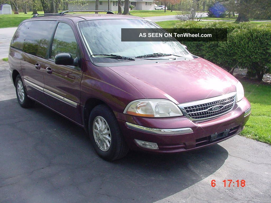 2000 Ford Windstar Se Van 96 Taurus Fuse Box