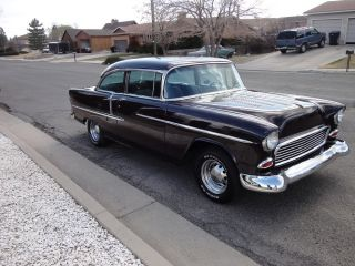 1955 Chevrolet Bel Air Show Room Condition.  A True Rebuilt 327 Eng photo