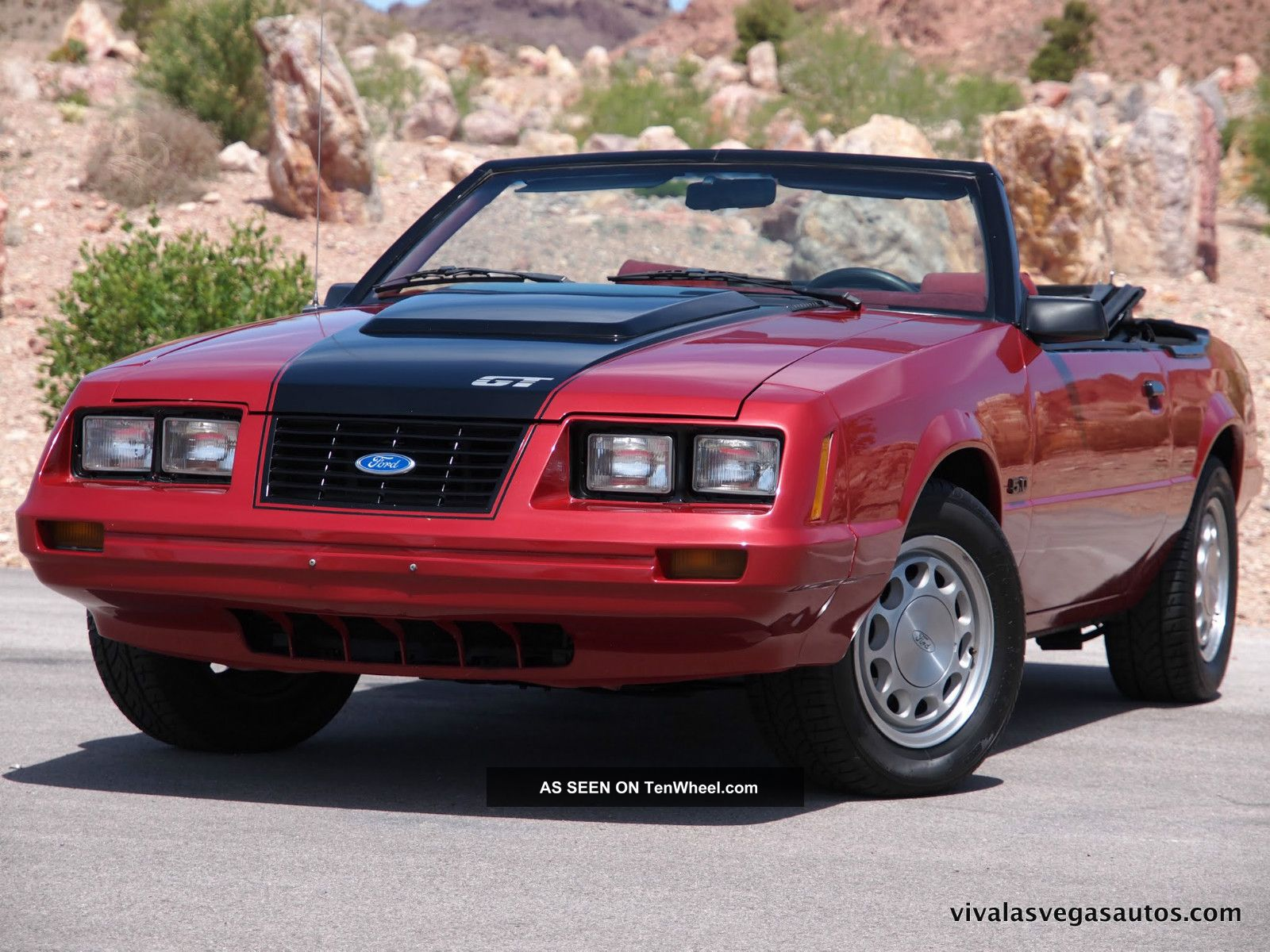 Ford       Mustang    Gt Fox Body Side View Pictures