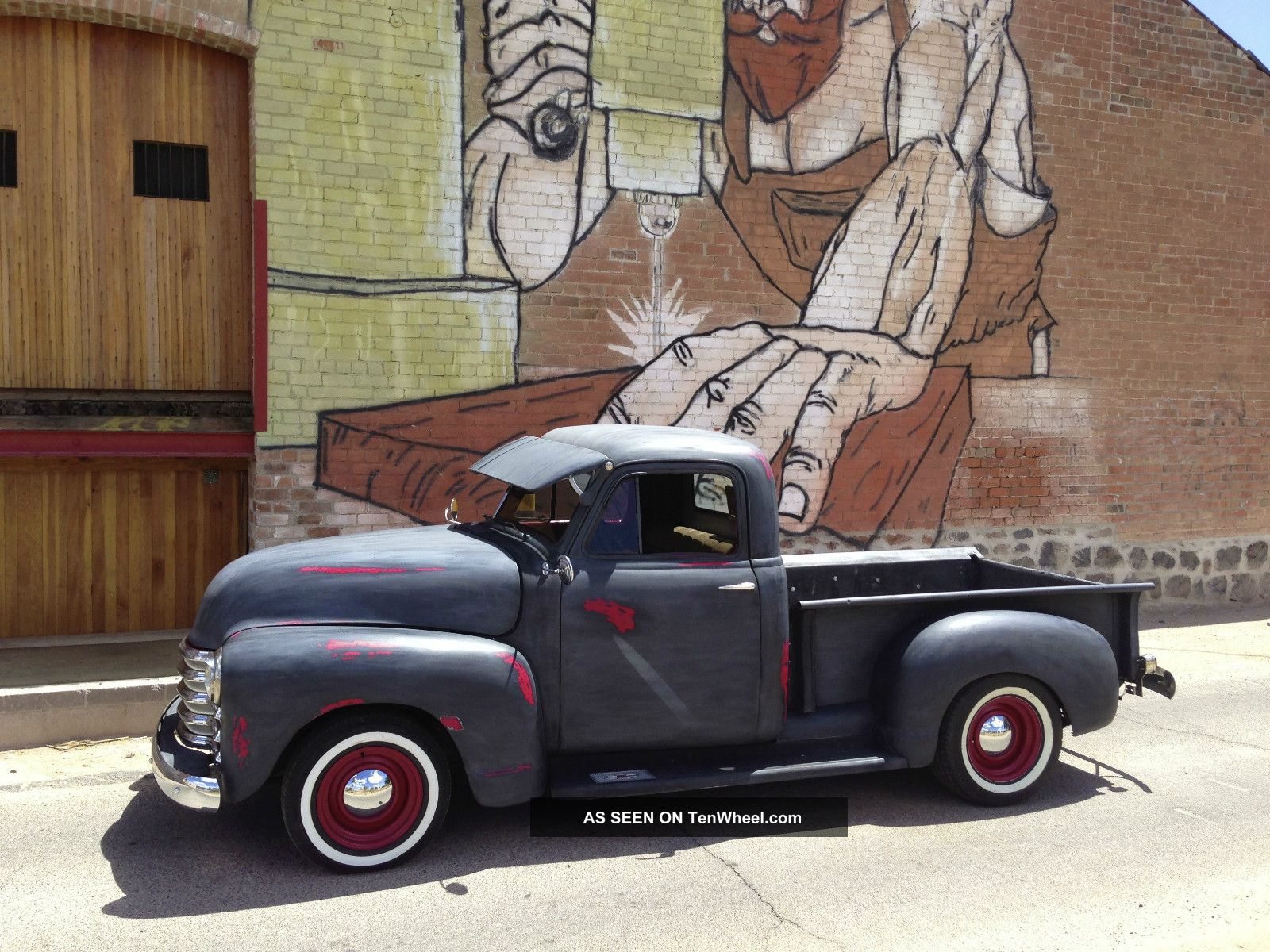 1951 Chevy Truck Arizona Pickup Rat Rod Ratrod Hot 3100 Chevrolet See My Video