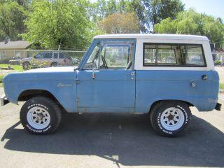 1966 Ford Bronco Uncut photo