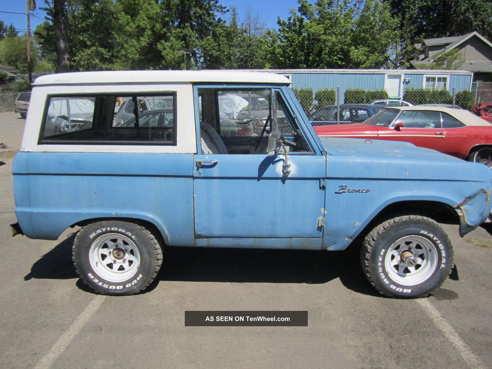 1966 Ford Bronco Uncut