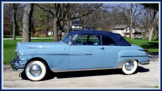 1949 Chrysler Yorker Convertible Body Off Restoration photo
