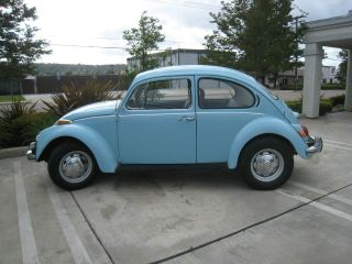 1971 Volkswagen Beetle Classic Blue,  Current Reg.  Clear Title,  Pick Up Only photo