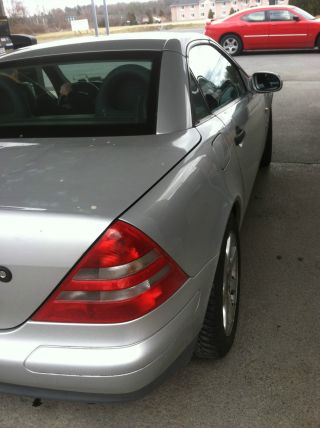 1998 Mercedes - Benz Slk 230 Kompressor Supercharged Convertible 87000 87k photo