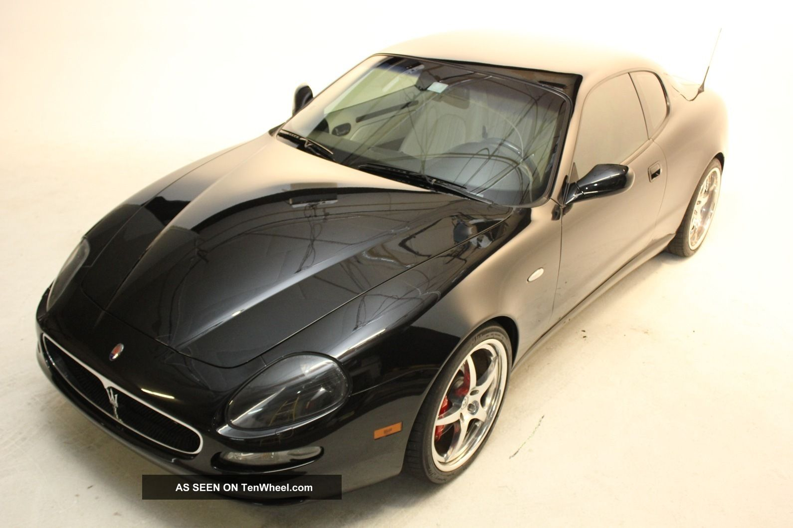 2002 Maserati Coupe Gt Tubi Exhaust,  Hre Rims Coupe photo