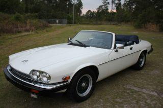 1990 Jaguar Xjs Convertible V12 2 - Door 5.  3l Make Me An Offer photo