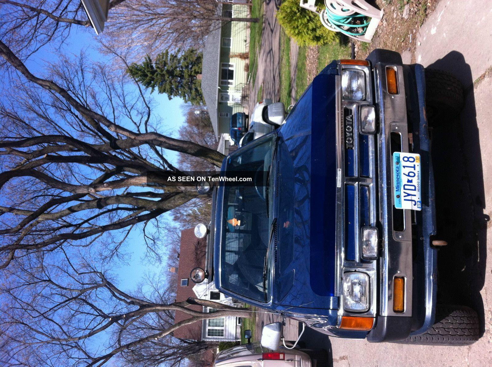Toyota Pickup 1988  Rebuilt Motor And Transmission