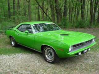 1970 Plymouth Barracuda ' Cuda 440 - 6 Pack photo
