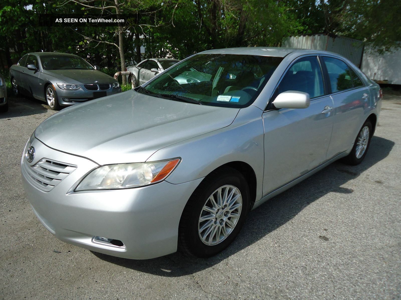 2007 toyota camry le sedan 2 4l 4cyl drives great. Black Bedroom Furniture Sets. Home Design Ideas