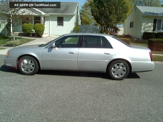 2002 cadillac deville silver gray. Cars Review. Best American Auto & Cars Review