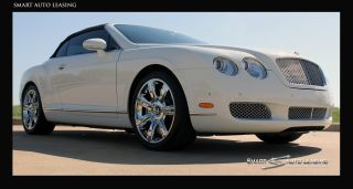 Perfect Color Combo 2008 Bentley Continental Gt Convertible White photo