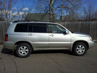 2002 Toyota Highlander Limited Sport Utility 4 - Door 3.  0l photo