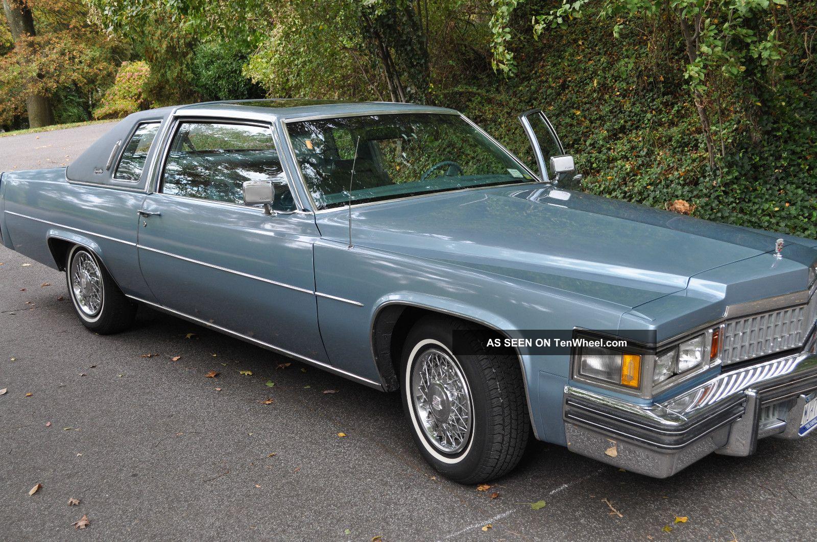 1978 Cadillac Coupe Deville Interior
