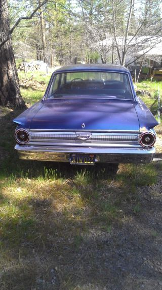 1963 Ford Fairlane 500 3.  6l photo