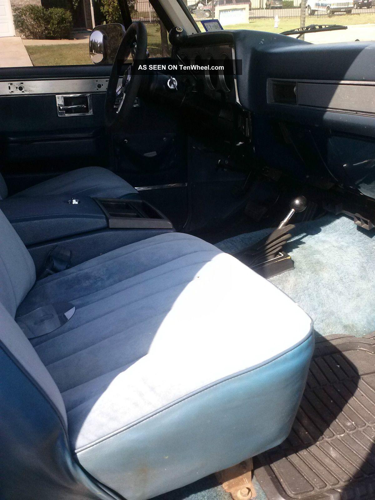 1984 Chevrolet K5 2dr 4wd Blazer