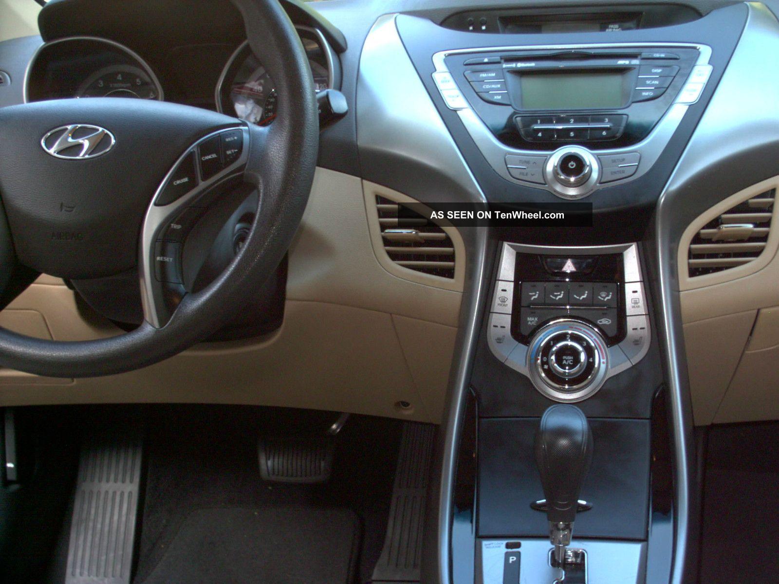 2013 Hyundai Elantra Gls Sedan 4 Door 1 8l