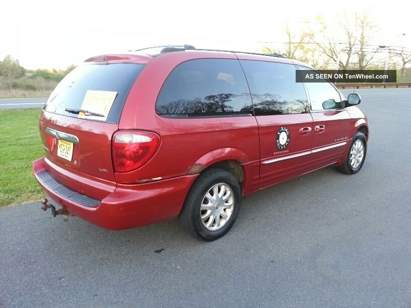 2001 chrysler town and country town country photo 4. Cars Review. Best American Auto & Cars Review