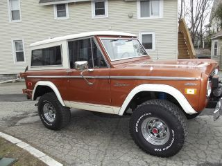 1974 Ford Bronco Ranger All 47k 302 3 Speed,  A / C Power Steering / Brakes photo