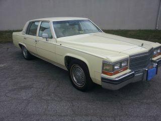 1984 Cadillac Sedan De Ville photo